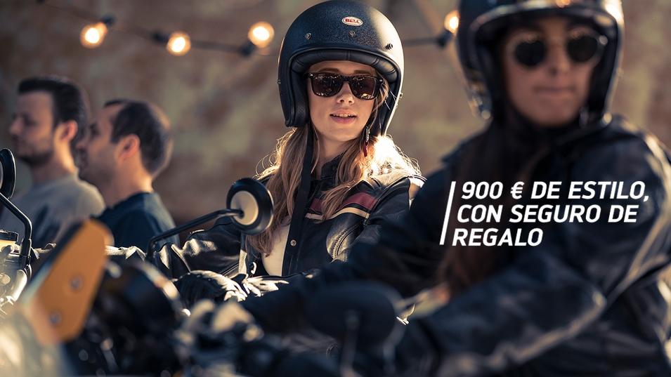 900 € DE ESTILO Y SEGURO DE REGALO